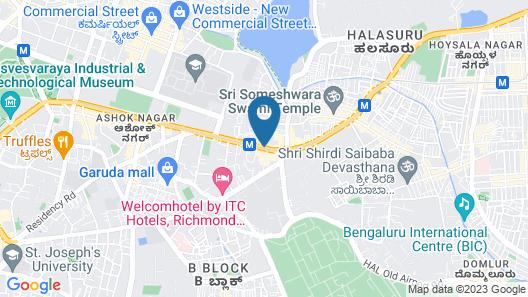 The Oberoi, Bengaluru Map