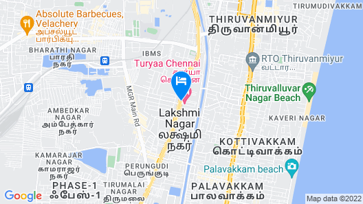 Turyaa Chennai- OMR IT Expressway Map