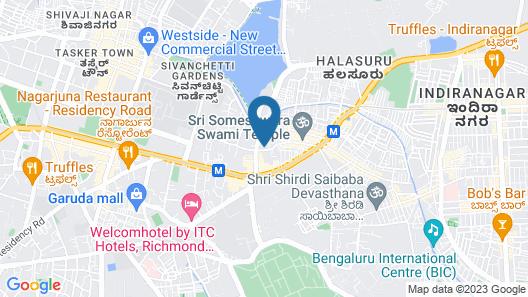 Conrad Bengaluru Map