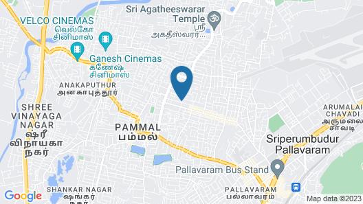 Saibala Inn Map