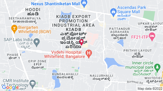 Bengaluru Marriott Hotel Whitefield Map