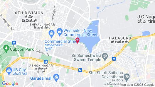 Radisson Bengaluru City Center Map