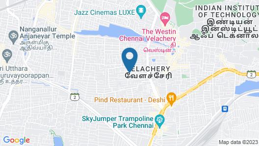 ULO Sai Jayanth Guest House Map