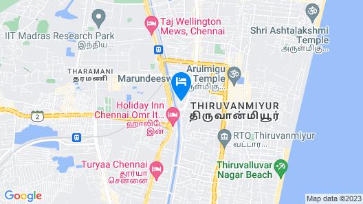 OYO 7697 India Gate Par View Map