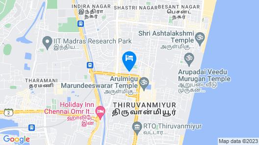 Season 4 Residences -  Thiruvanmiyur Map