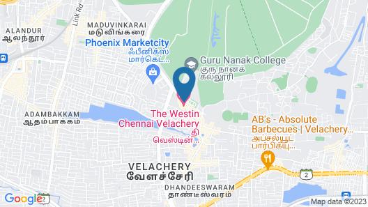 The Westin Chennai Velachery Map