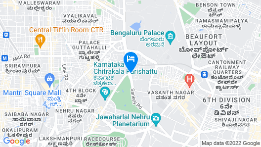 ITC Windsor, A Luxury Collection Hotel, Bengaluru Map