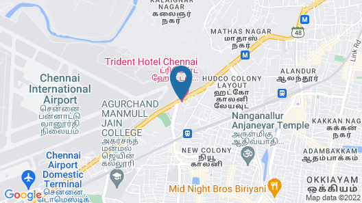 Trident, Chennai Map