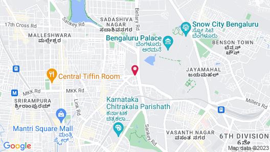 Tulip Inn Bangalore Map