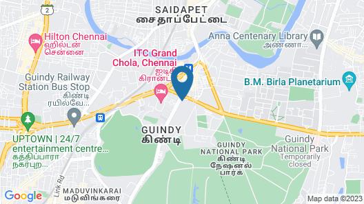 Park Hyatt Chennai Map