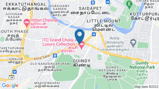 ITC Grand Chola, a Luxury Collection Hotel, Chennai Map