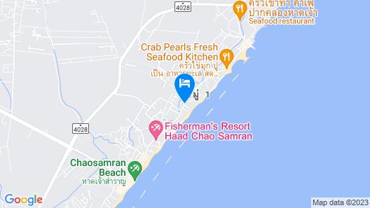 Pornphet Resort Map
