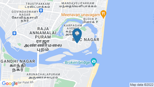Somerset Greenways Chennai Map