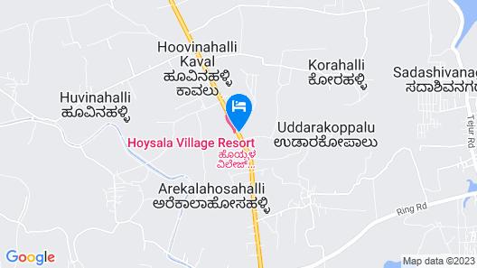 Hoysala Village Resort Map