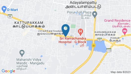 Hotel Ashok Residency Map