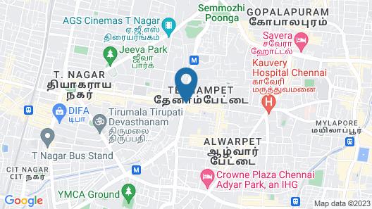 THANGAM BALAJI GUEST HOUSE Map