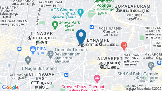 Grand Chennai by GRT Hotels Map
