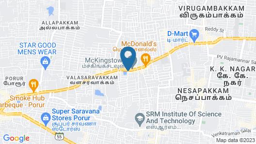Fast Track Valasaravakkam Map