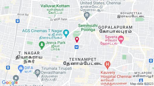 Courtyard by Marriott Chennai Map