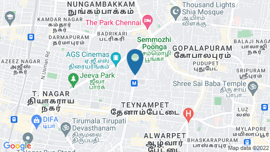 Courtyard by Marriott Chennai Map