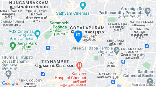 Welcomhotel by ITC Hotels, Cathedral Road, Chennai Map