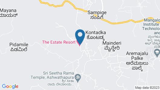 The Estate Resort Bar and Restaurant Map