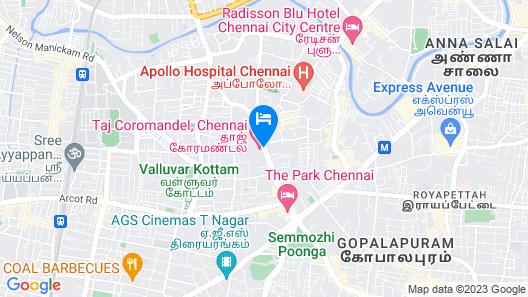 Taj Coromandel Map