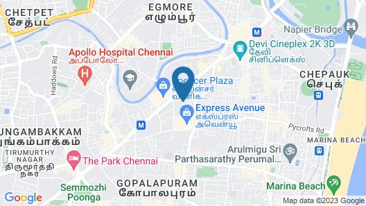 Taj Club House Map