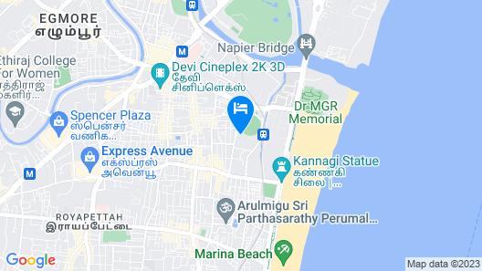 Le Stay Inn Map
