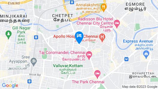 The Belstead Chennai (Near US Consulate) Map