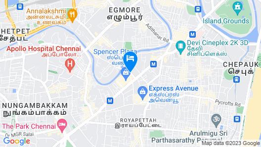 Taj Connemara Map