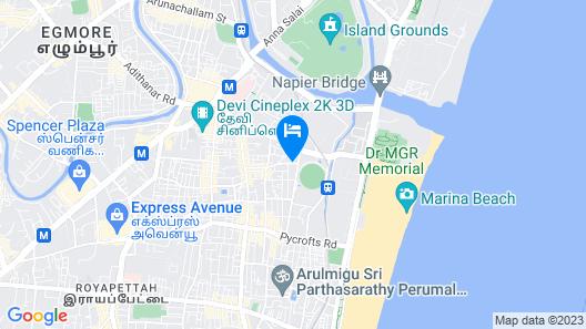 SPOT ON 45468 Kumarans Inn Map