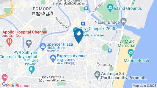 NB Palace Map