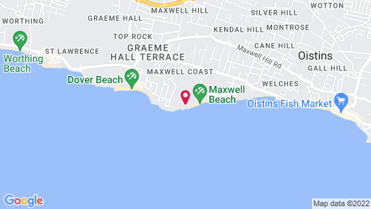 Sandals Royal Barbados - ALL INCLUSIVE Couples Only Map