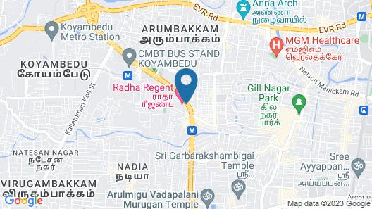 Radha Regent Map