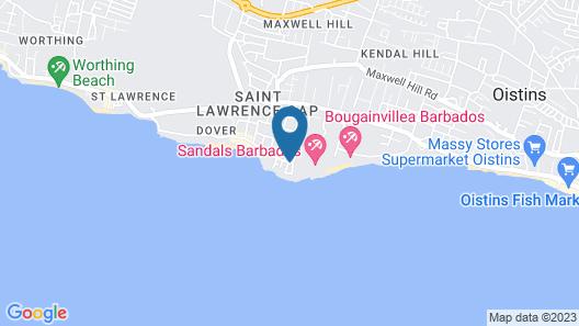 Meridian Inn Map