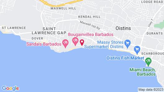 Barbados Beach Club Resort - All Inclusive Map
