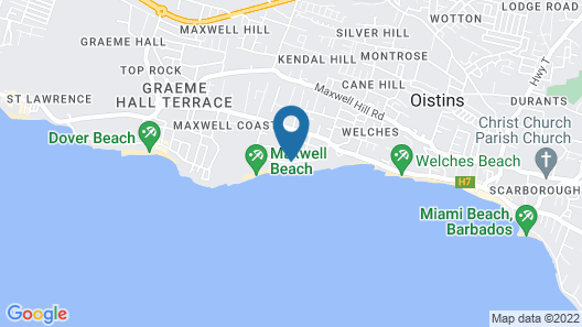 Luxury Collection at Sea Breeze Beach House by Ocean Hotels Map