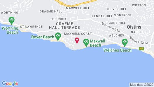 Sandals Barbados - ALL INCLUSIVE Couples Only Map