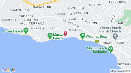 Sea Breeze Beach House by Ocean Hotels - All Inclusive Map