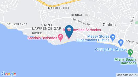 Bougainvillea Barbados Map