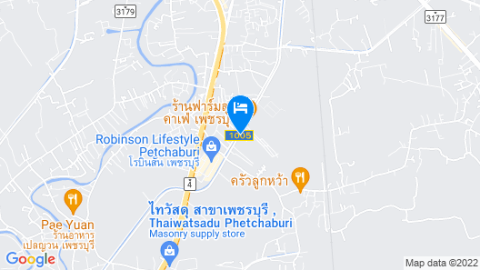 Ton Taan Resort Muang Map