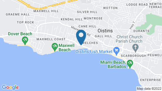 Butterfly Beach Hotel Map