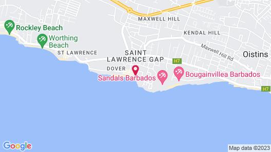 Sapphire Beach Condominiums Map