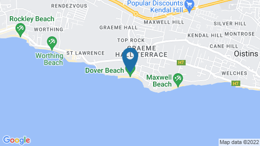 Southern Palms Beach Club Map