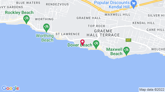 Infinity On The Beach Map