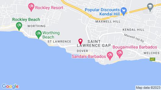 Divi Southwinds Beach Resort Map