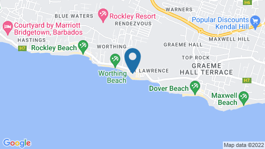Coral Sands Beach Resort Map