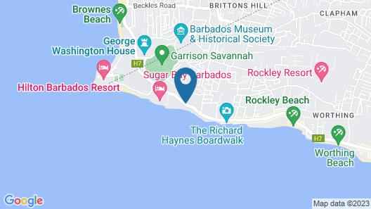 Courtyard by Marriott Bridgetown, Barbados Map