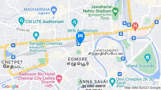 Ramada by Wyndham Chennai Egmore Map